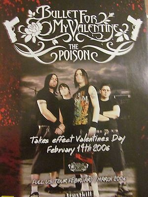 Bullet For My Valentine, The Poison, Full Page Promotional Ad