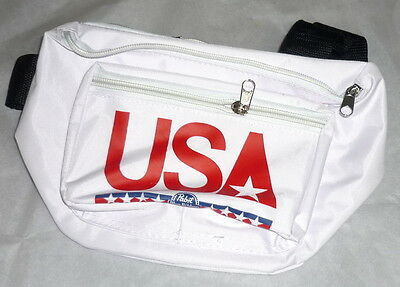 PBR Pabst Blue Ribbon Beer TEAM USA Fanny Pack Olympics Red White Blue NEW