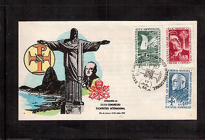 Brazil 1959 First Day Cover, # 892 Honoring The Merchant Marine !!
