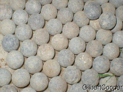 10-- Old 75 Calber Musket Balls--Old