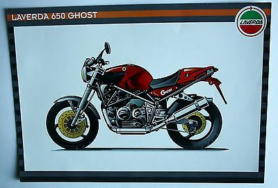 Laverda 650 Ghost  Sales Brochure