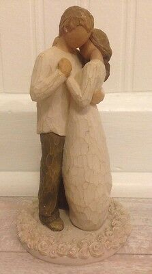 Willow Tree Promise Of Love Wedding Cake Topper Figurine 2007 Demdaco