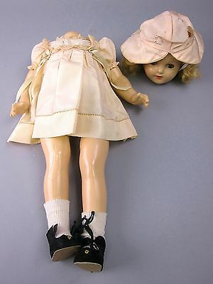 Antique/Vintage Composition Baby Doll with Rocking Eyes & Detached Head