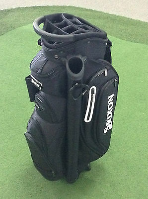 SRIXON DELUXE Cart Bag 14 Hole Top Full Length Dividers, Putter Well COOLER