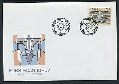 The Industry Behind Modern Norway 1991 - Fdc (Rr)