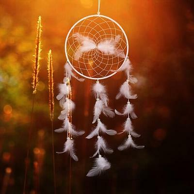 Fashion Handmade Dream Catcher Net With feathers Hanging Decoration Craft Gift