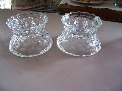 Fostoria American hurricane lamp base (1)