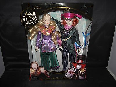 Disney Alice Through the Looking Glass Mad Hatter and Alice