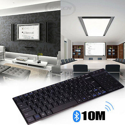Bluetooth3.0 Ultra Slim Mini Wireless Keyboard Touch Pad For iOS Windows Android