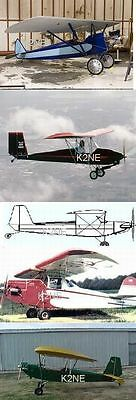 Texas Parasol Aircraft Plans + Builder Manual On Cd - K2Ne Web Store