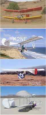 FOUR ULTRALIGHT GLIDERS - PLANS ON ONE CD: Bloop-2, Bug-4, Goat-1, 'PIG'
