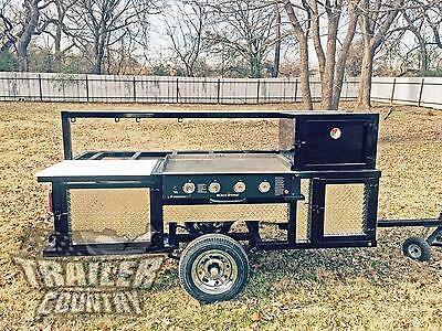 NEW 4 X 8 Outdoor Mobile Grill Portable Kitchen Concession Trailer Troop Edition