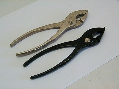 (2) USATCO Camloc Pliers 4P3 Aircraft Fastener Tool