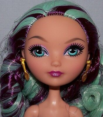 Nude Ever After High Doll - Articulated 1st Wave Madeline Hatter Doll