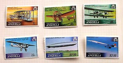 Anguilla Avaiation stamps MNH