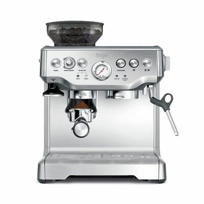 Sage By Heston Blumenthal BES870UK Barista Express Espresso Maker Coffee Silver.