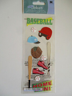 A Touch Of Jolee's Dimensional Stickers - Baseball