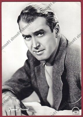 JAMES STEWART 08 ATTORE ACTOR ACTEUR CINEMA MOVIE - USA Cartolina FOTOGRAFICA