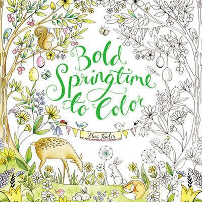 Sweet Springtime to Color by Eleri Fowler Paperback Book (English)