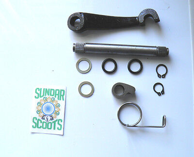 Gp,li,sx & Tv Clutch Selector Arm Kit With All Fittings. Suitable For Lambretta