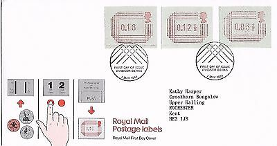 GB 1984 May Frama Labels FDC Windsor