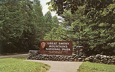 Great Smokey Mountains National Park Tennessee North Carolina Postcard
