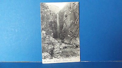 Jersey Channel Islands Postcard The Waterfall LL 244 Louis Levy c1905 Green Back