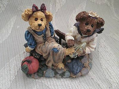 Ret. Boyds Bears Resin Cinderella Prince Charming  If The Shoe Fits-Sealed NIB!