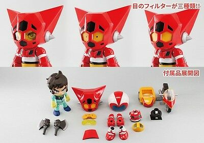 Alphamax Q-Suit Ryoma Nagare X Getter Robot Getter One 1 Eagle Ryo Nuovo New