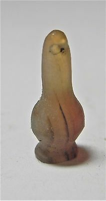 ZURQIEH -af1341- ANCIENT EGYPT ,18th DYNASTY AGATE POPPY SEED BEAD. 1400 B.C