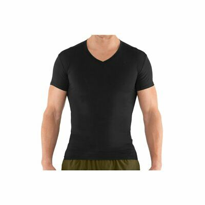 Under Armour Tactical Heat Gear Compression V-Neck Herren Fitness T-Shirt