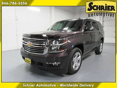 2015 Chevrolet Tahoe LTZ Sport Utility 4-Door Chevy Tahoe LTZ Sable Metallic Power Running Boards Power Lift Gate 7 Passenger