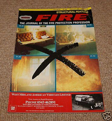 Fire Magazine - Vol 80 No 992 February 1988
