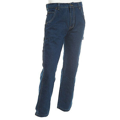 Nwt~ Men's Smith's Flannel Lined Carpenter Blue Jeans. Msrp: $40