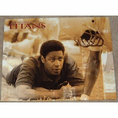 Remember The Titans movie poster print #2 - Denzel Washinton, American Football