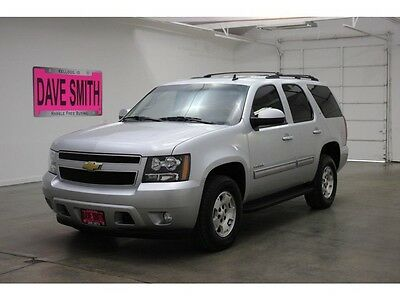 2013 Chevrolet Tahoe LT Sport Utility 4-Door 13 Chevy Tahoe LT Four-Wheel Drive Remote Start Auto Keyless Entry Tow AC Cruise