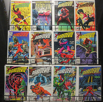 Daredevil (Marvel 1982-86) #189-234 Lot of 33Diff Cowboys Jesters Gael Deadly!