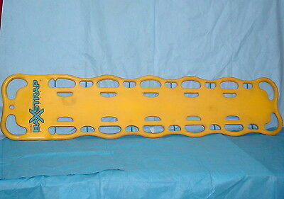 "Laerdal BaXStrap Spineboard 982500 Latex-free 500lb Max Capacity 72"" x 16"" x 3"""