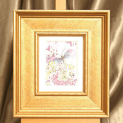"""Antique Style Frame (wood) fits 5""""x4"""" Painting /Photo or ACEO Mount P&P Discount"""