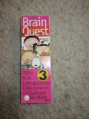 Brain Quest 3rd Grade Ages 8-9 Deck One
