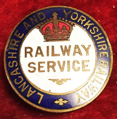 Lancashire & Yorkshire Railway Service UK Hallmarked & Serial Numbered England