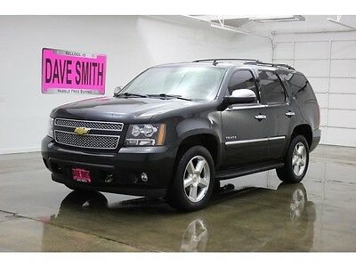 2012 Chevrolet Tahoe LTZ Sport Utility 4-Door 12 Chevy Tahoe LTZ Four-Wheel Drive Auto Sunroof Remote Start Heated Seats