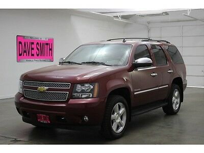 2014 Chevrolet Tahoe LTZ Sport Utility 4-Door 14 Chevy Tahoe LTZ Four-Wheel Drive Auto Sunroof DVD Heated Seats Premium Audio