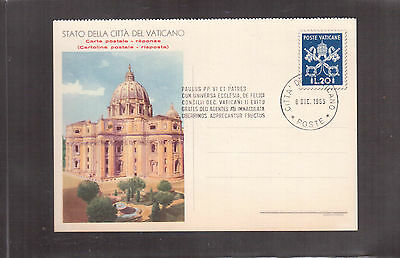 Vatican 1965 Used Stationary, Vatican City State !!