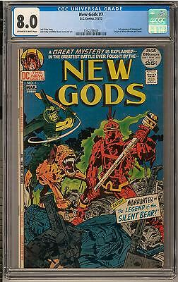 New Gods #7 CGC 8.0 (OW-W) 1st Steppenwolf Appearance