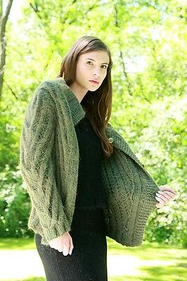 Mohair Cardigan & Angora Sweater/skirt