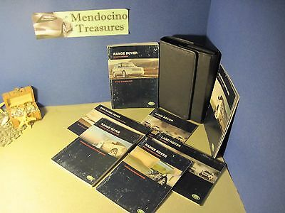 2006 Land Rover Full Size Range Rover Owners Manual Navigation Manual Buy Oem