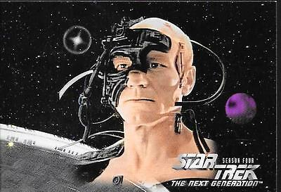 Star Trek The Next Generation Season Four Komplettes Trading Card Set No.313-420