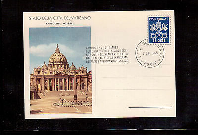 Vatican 1965 Used Stationary, Vatican City State !!2