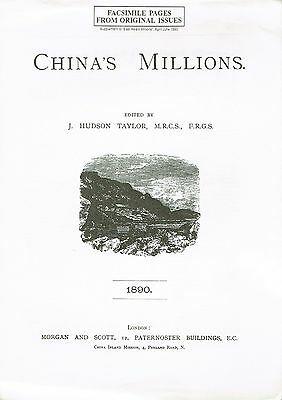 Facsimile Pages from Original Issues - China's Millions - J. Hudson Taylor